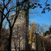 Flatiron Building and MAdison Square Park, Manhattan