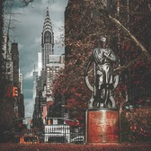 Chrysler Building from Gramercy Park, Gramercy, Manhattan