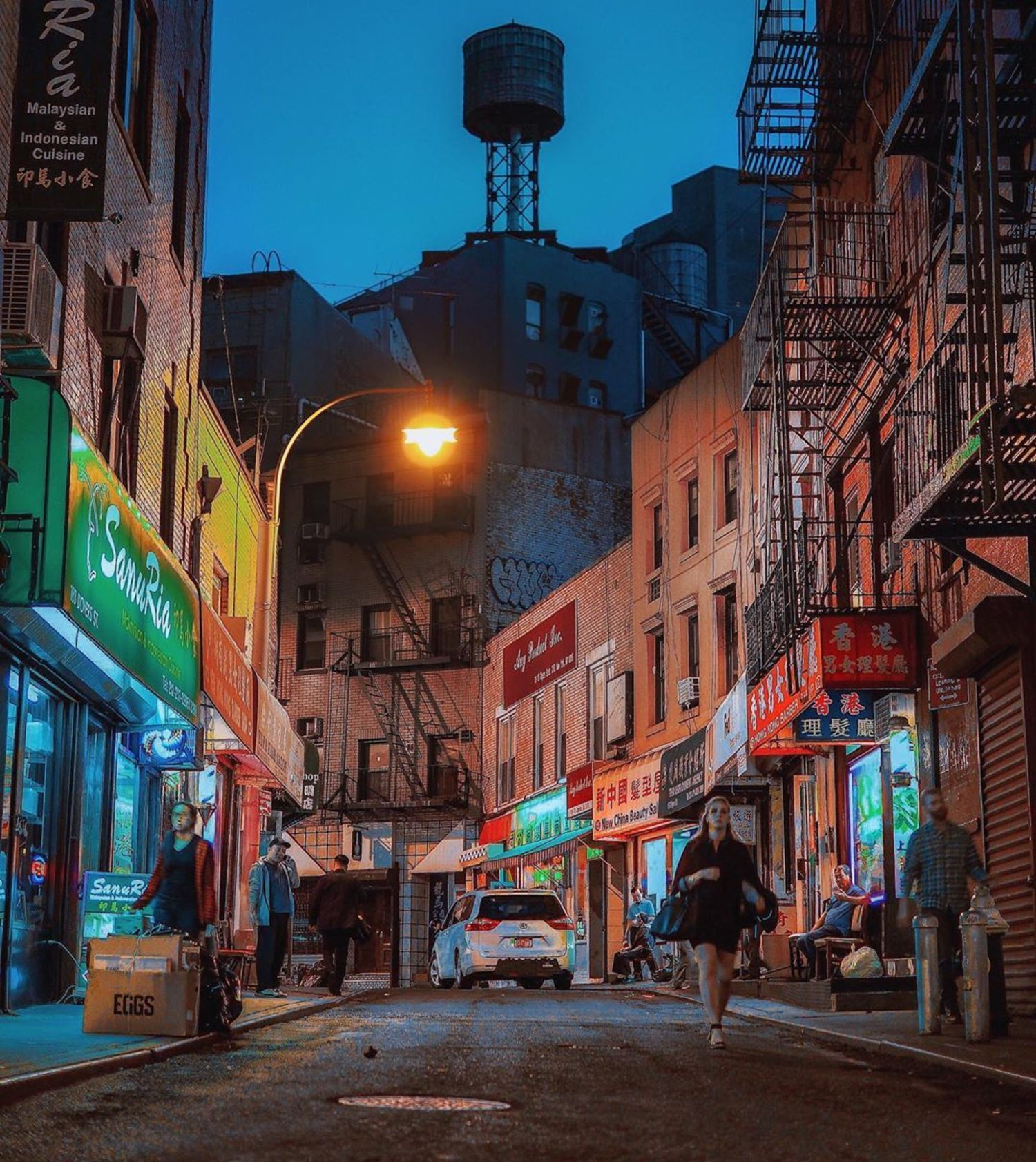 Doyers Street, Chinatown, Manhattan