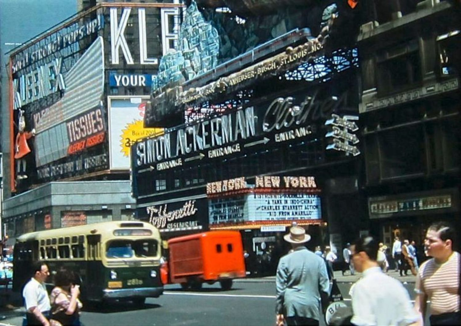 Times Square, 1952