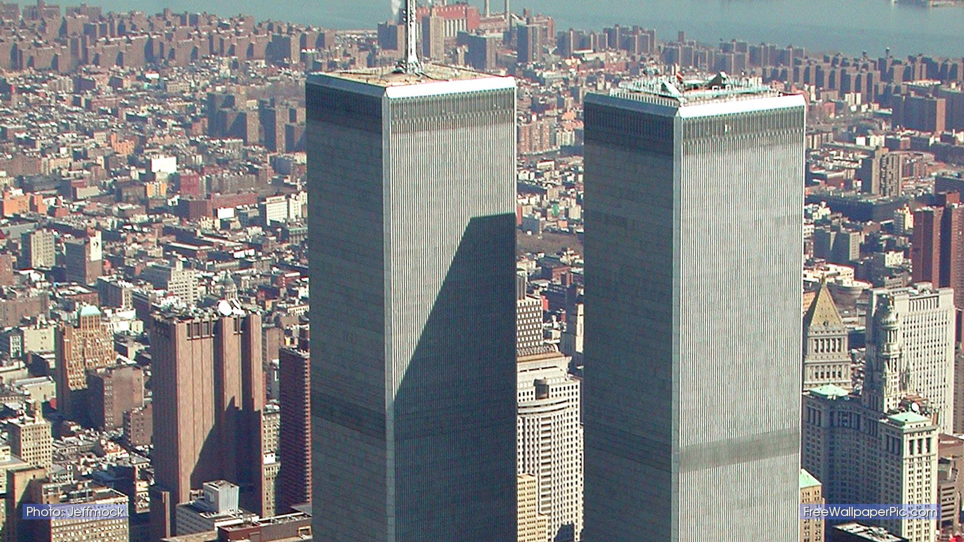 911 victims who fell from Twin Towers appeared to be