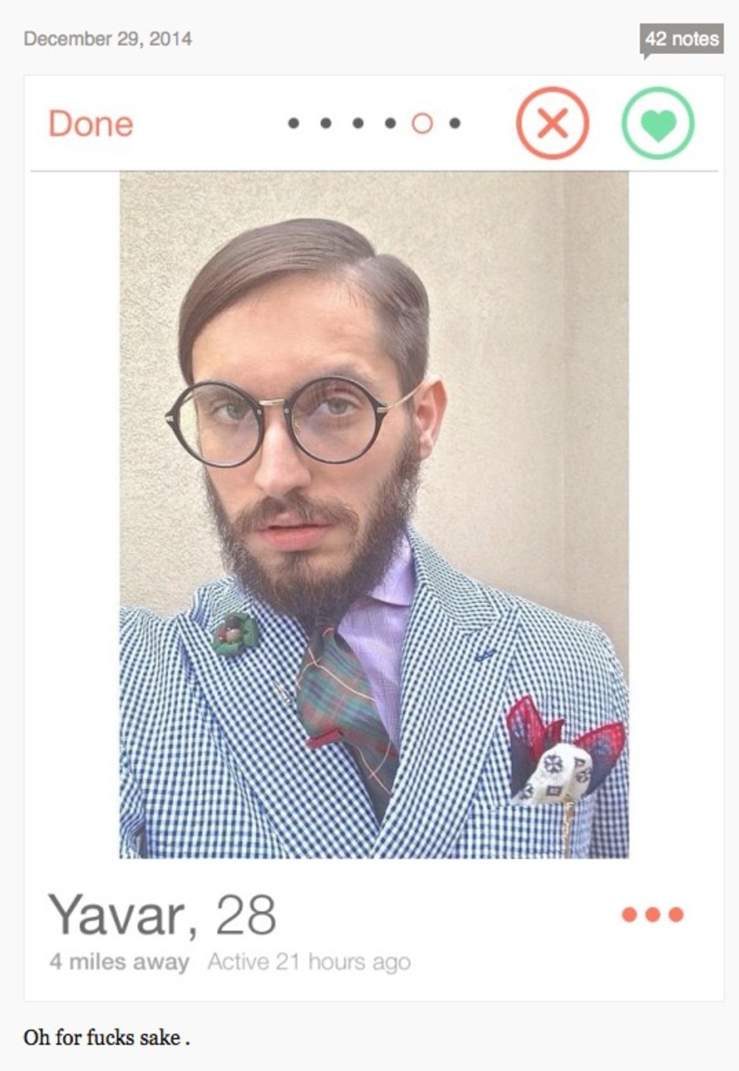 Tinder in Brooklyn, a Blog That Posts Hillariously Bad (And