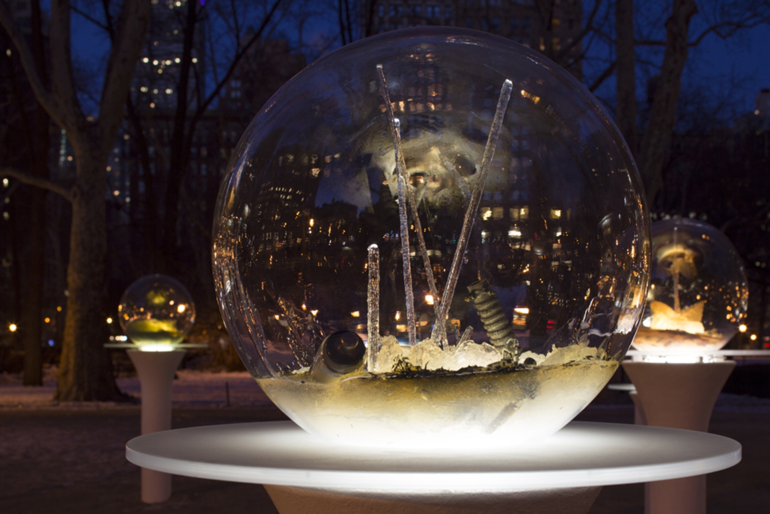 "Paula Hayes, ""Gazing Globes"", February 19th - April 19th"