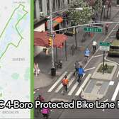 NYC 4-Boro Protected Bike Lane Ride