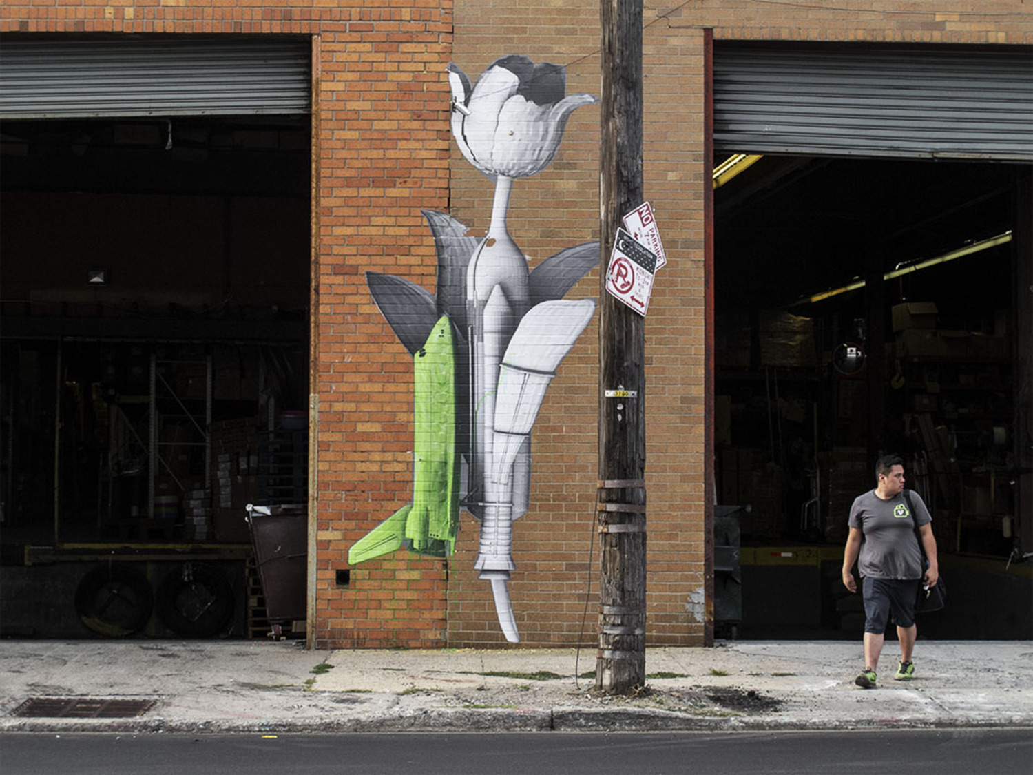 Ludo creates two brand new pieces in New York City, USA