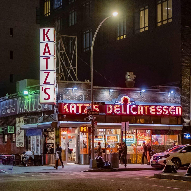 Katz's Delicatessen, Lower East Side, Manhattan