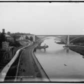 Washington Bridge and speedway, New York ca. 1900