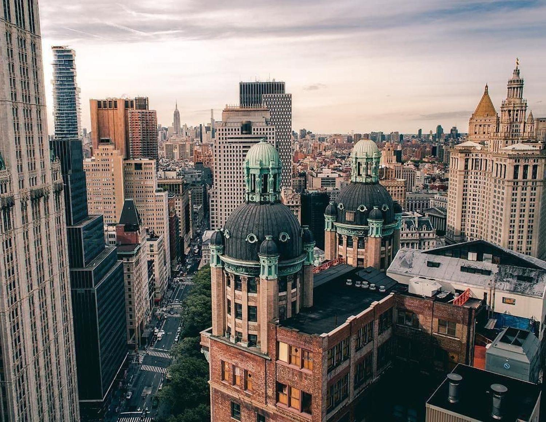 15 Park Row, New York. Photo via @urban_eh_xploration #viewingnyc
