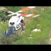 NYPD Air Sea Rescue Saves Three Off Staten Island