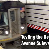 ⁴ᴷ Second Avenue Subway Test Train Action