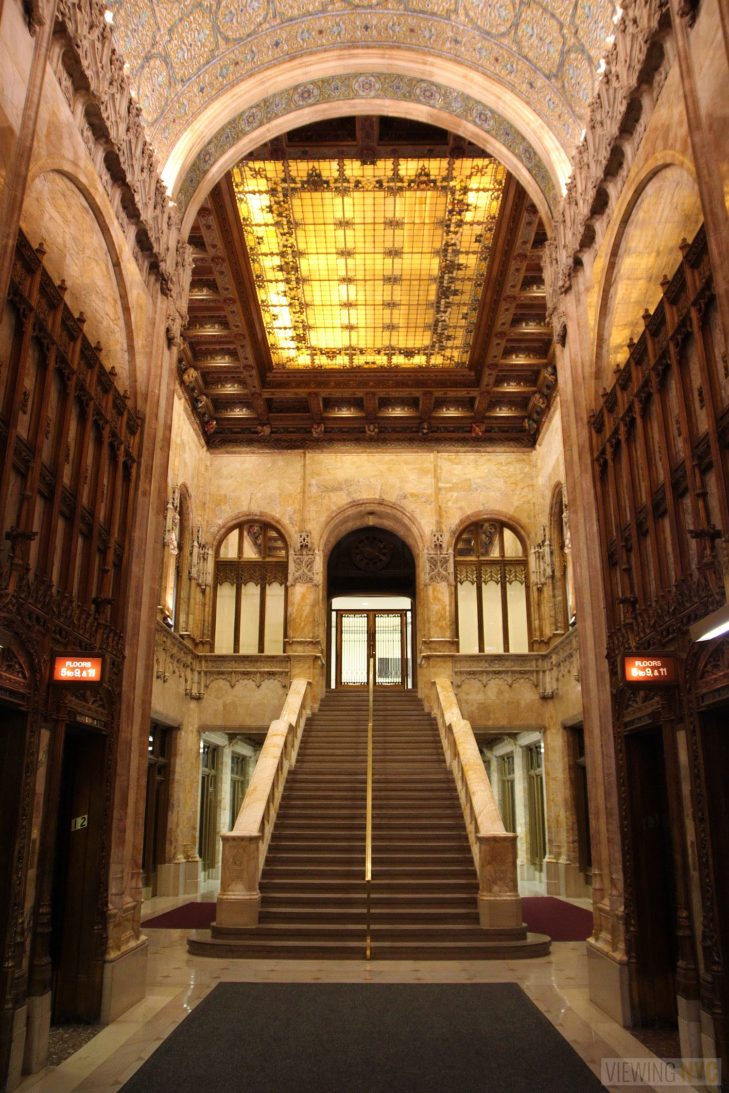 Woolworth Building Lobby and Basement Tour 110