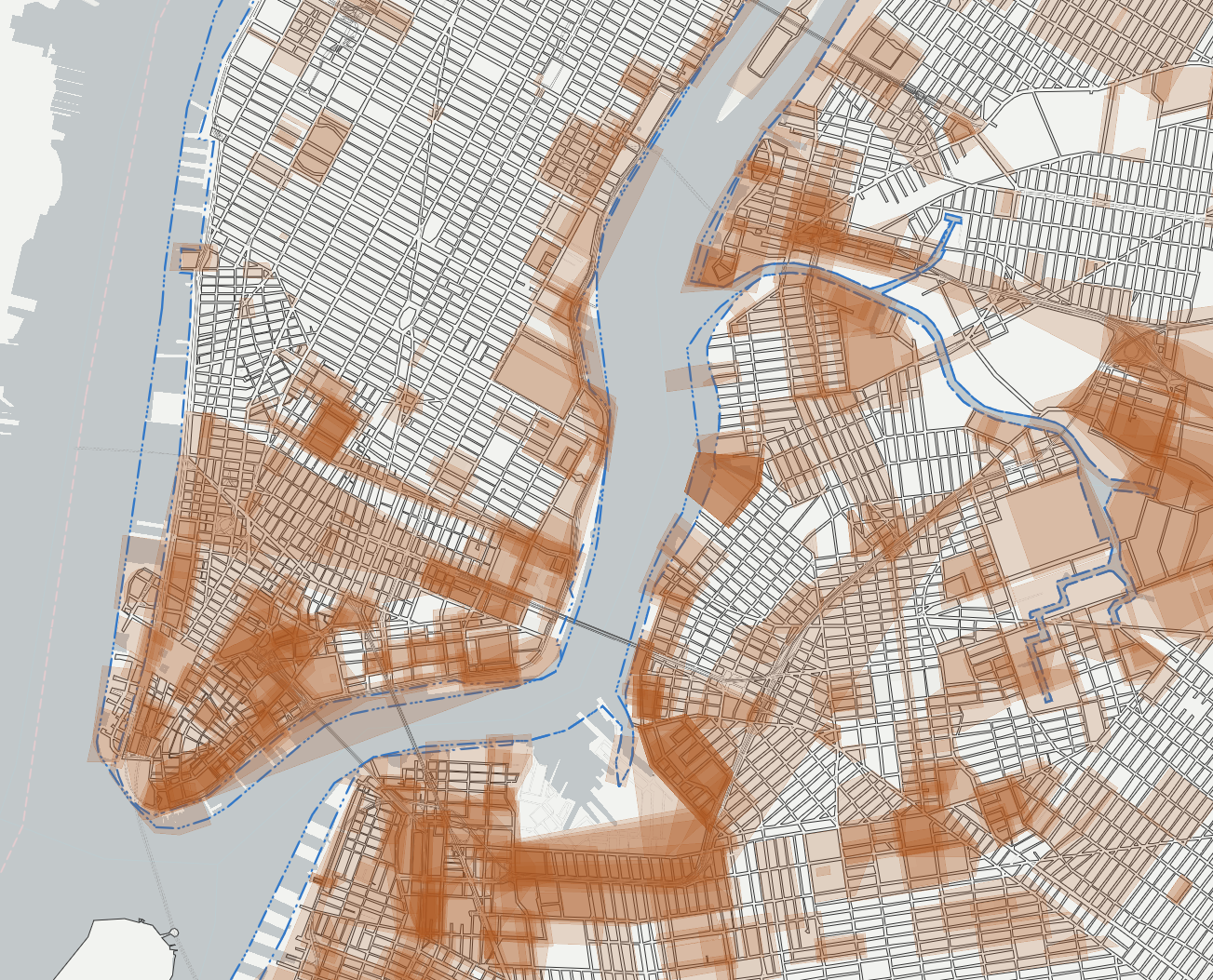 Midtown-New York City Streets Map - street location maps ...  New York City Grid Map