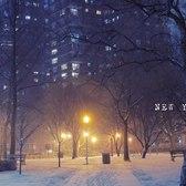 Snowy night in New York City. ASMR G85 12-60mm 4K