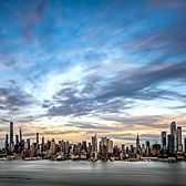 Midtown Manhattan Skyline as seen from New Jersey