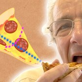 The Remarkable Way We Eat Pizza - Numberphile