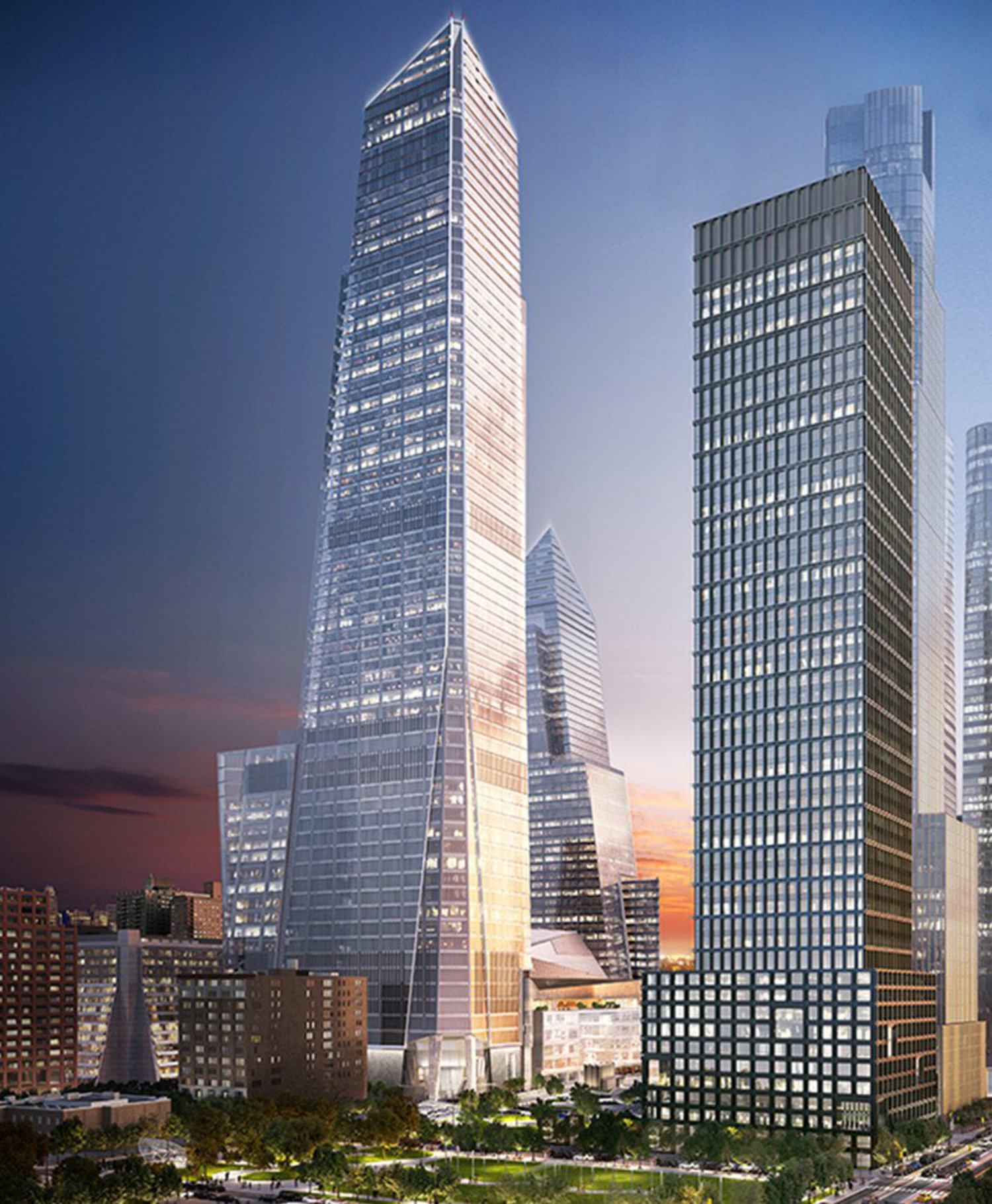 New Renderings and New Tenant Revealed for 90-Story Hudson Yards Tower