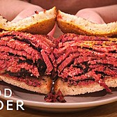 Katz's Makes New York's Most Legendary Pastrami On Rye | Legendary Eats