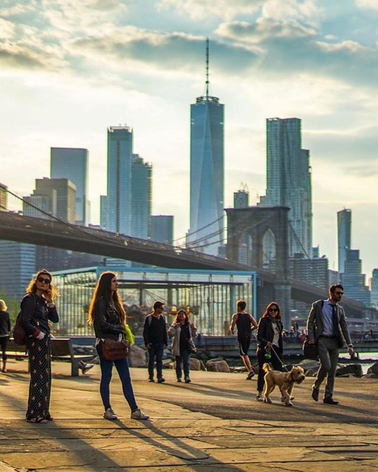 Dumbo, Brooklyn. Photo via @ctg125 #viewingnyc #newyorkcity #newyork #nyc #dumbo #brooklyn #brooklynbridge #janescarousel
