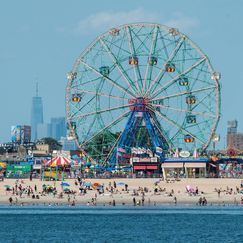 Deno's Wonder Wheel Park at Coney Island