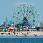 Deno's Wonder Wheel Park at Coney Island