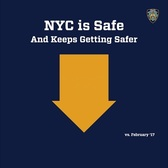 Overall Crime Reduction in New York City Continues in February