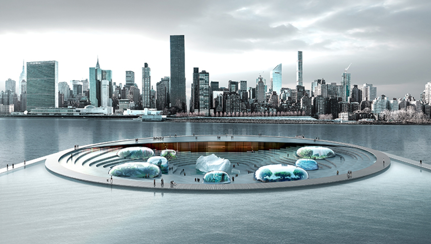 The proposal creates a dynamic system that interacts with its surroundings