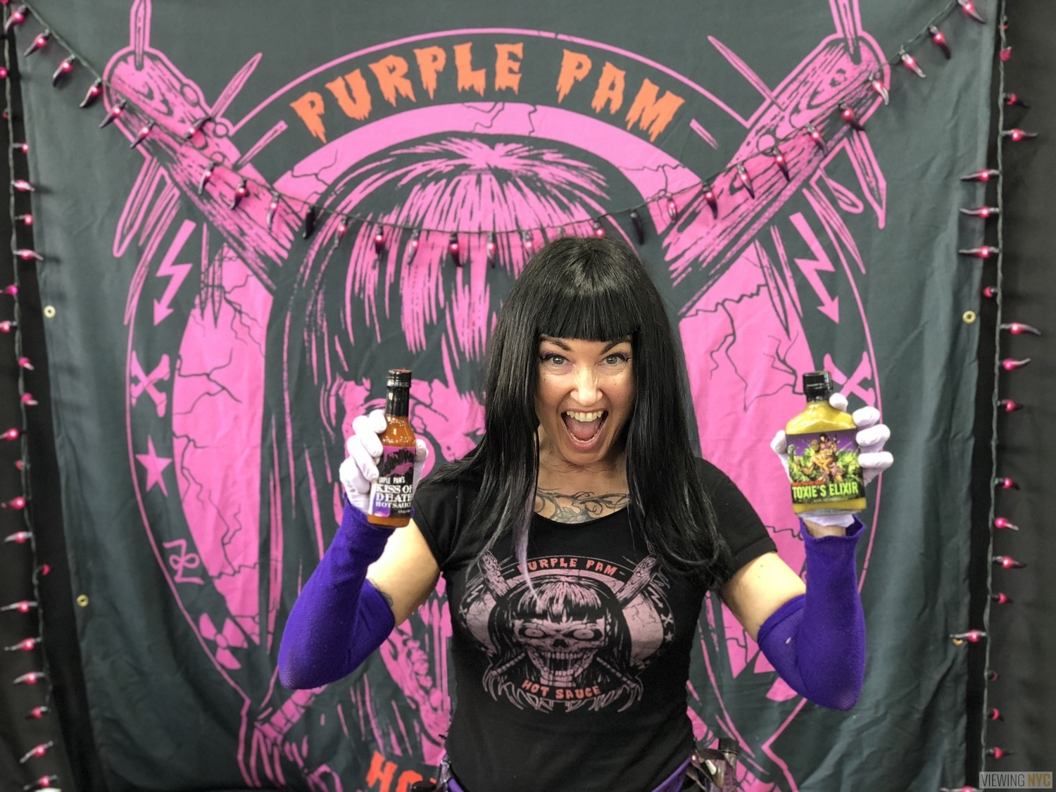 Purple Pam | 2018 New York City Hot Sauce Expo