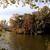 Walking Tour of Central Park, NYC during Autumn / Fall from 59th - 110th Streets