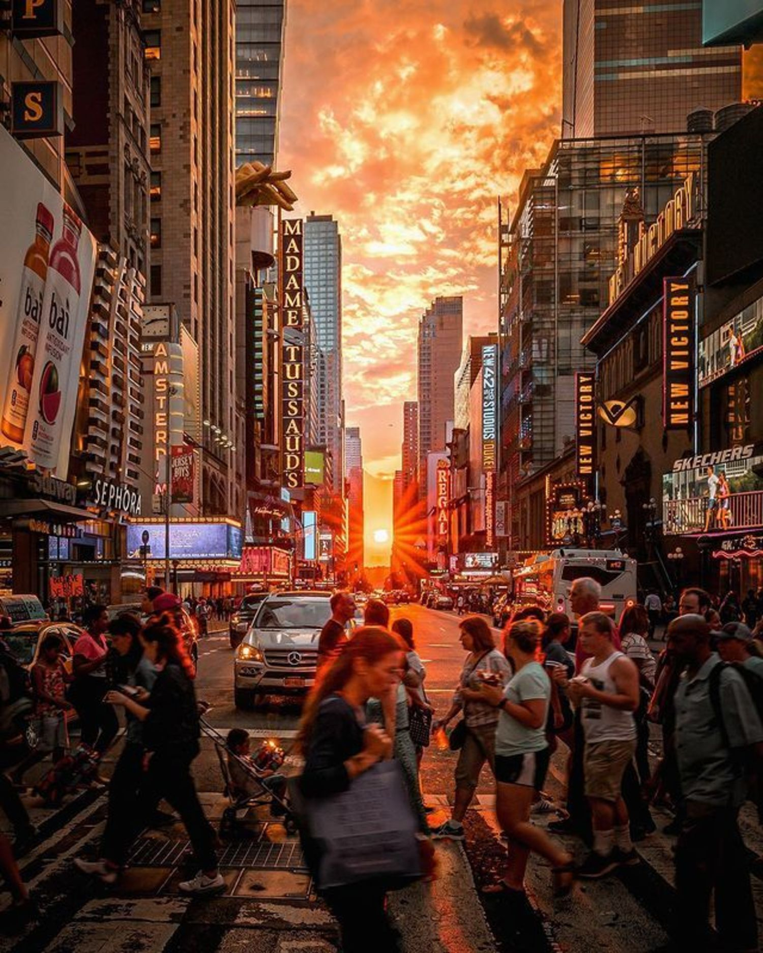 West 42nd Street, Times Square, Midtown, Manhattan