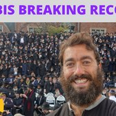BREAKING A RECORD WITH OVER 3,000 RABBIS