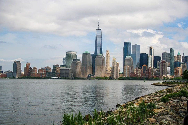 Liberty Park, Liberty Island, New York.
