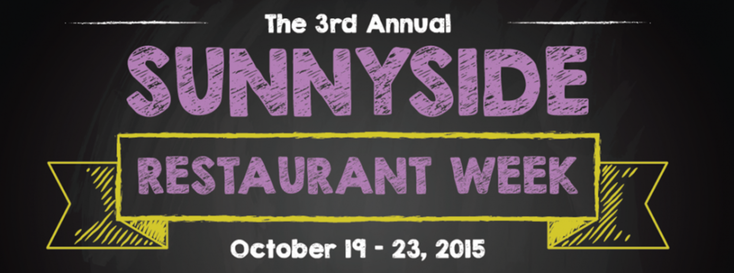 3rd Annual Sunnyside Restaurant Week