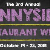 3rd Annual Sunnyside Restaurant Week