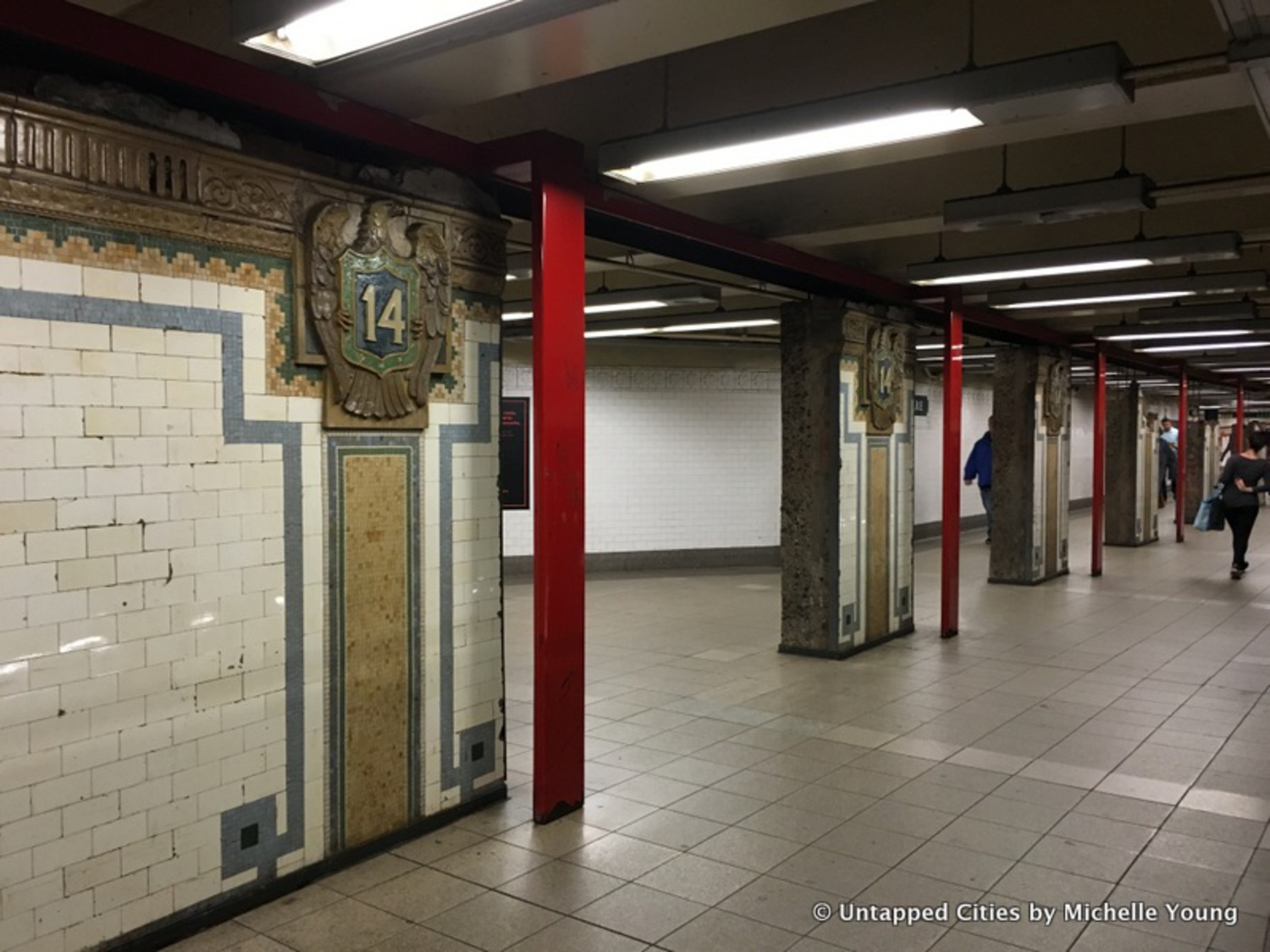 Remnants of 1904 Union Square Subway Station Hidden in Plain Sight