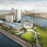 Preview of the Under-Construction Cornell Tech Campus on Roosevelt Island