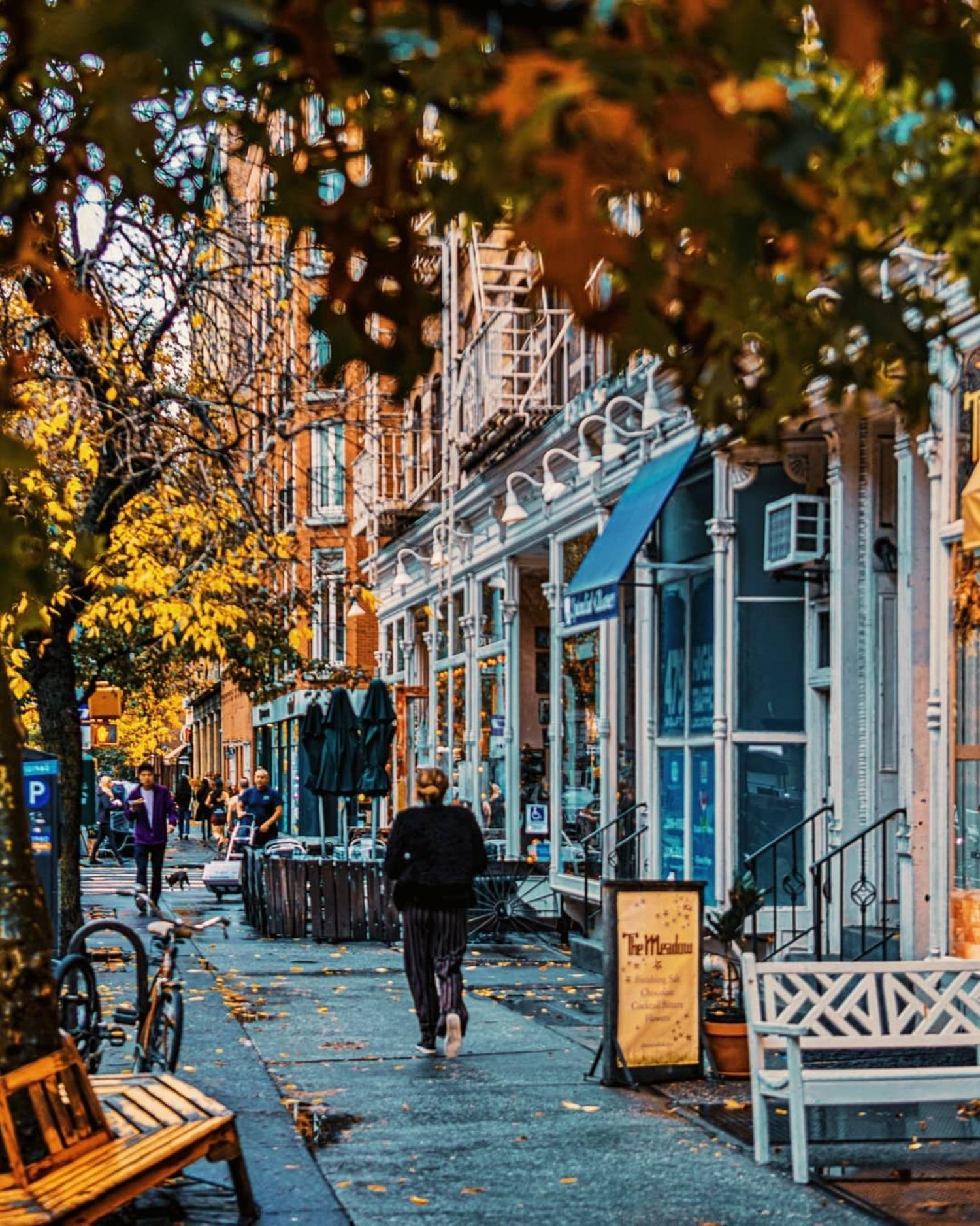 Hudson Street, West Village, Manhattan