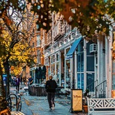 Hudson Street, West Village, Manhattan
