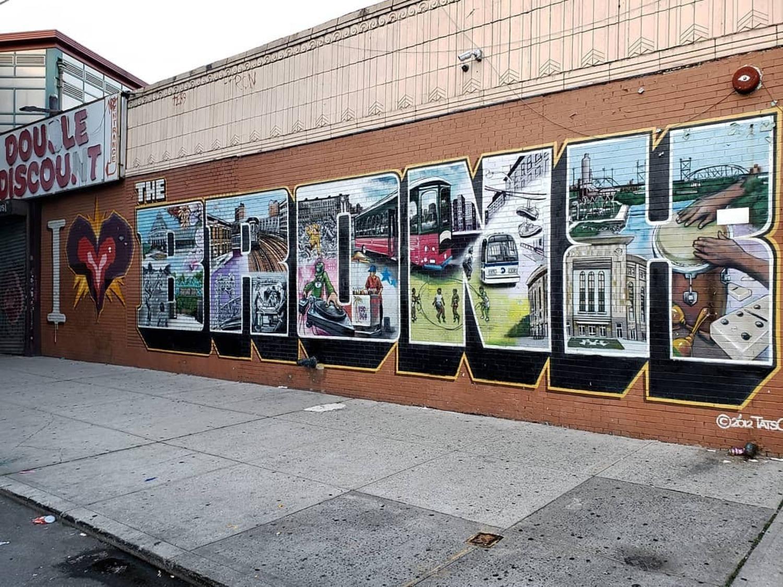 Simpson Street & Westchester Avenue, Bronx