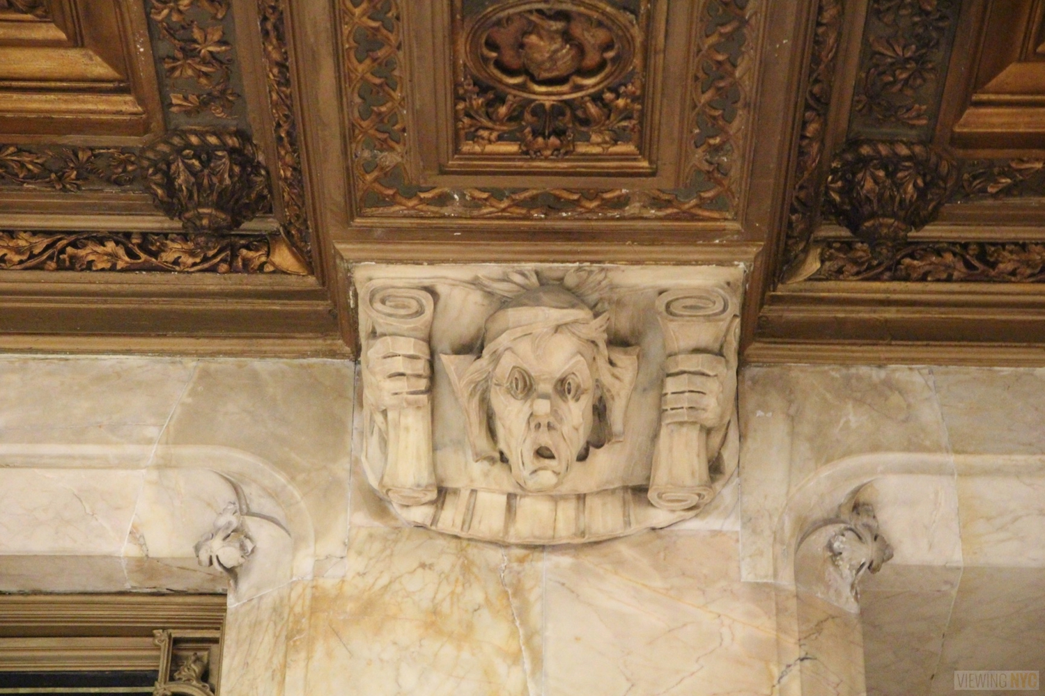 Woolworth Building Lobby and Basement Tour 89