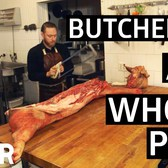 How To Butcher A Pig Into 9 Classic Cuts