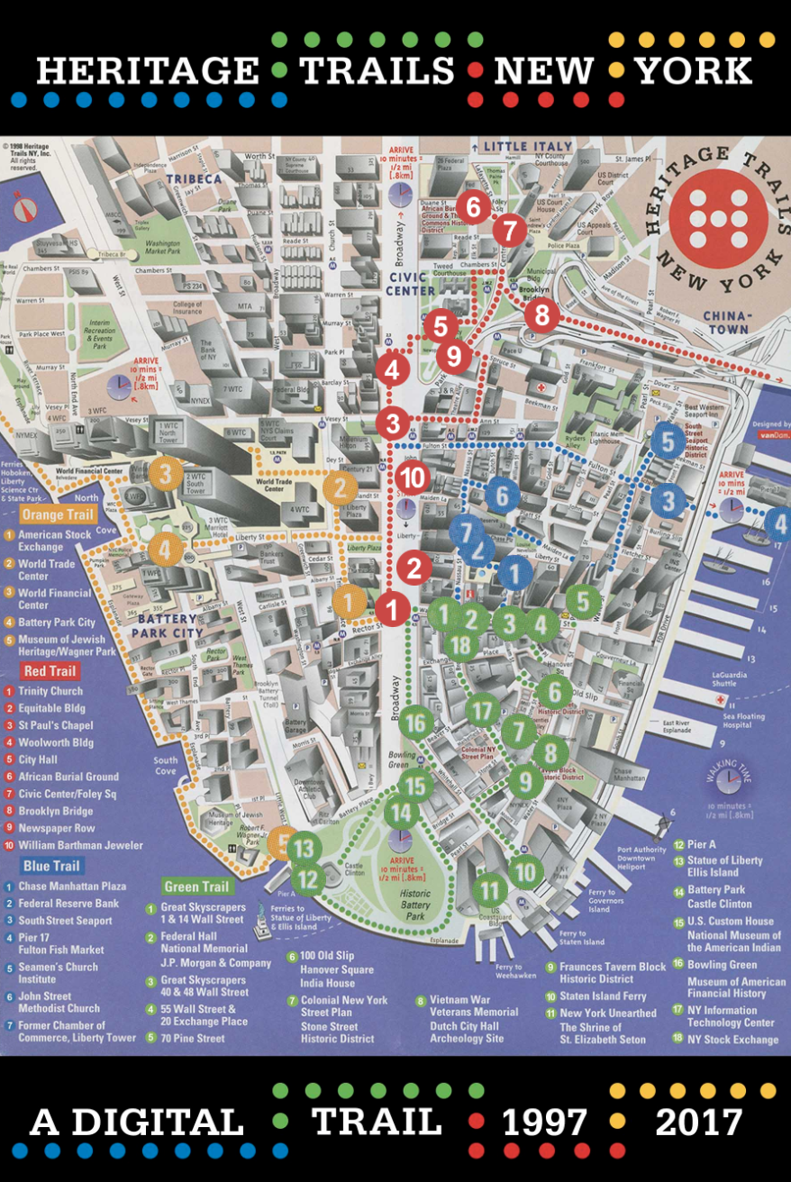 interactive map lets you explore lower manhattan u0026 39 s