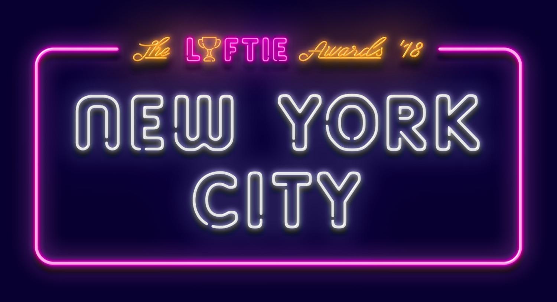 2018 New York City Lyftie Awards