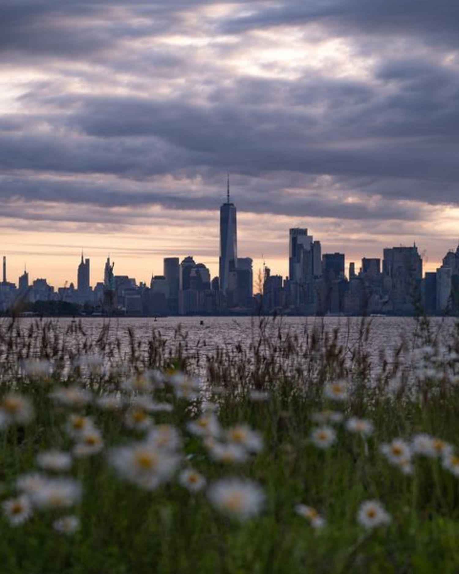 Lower Manhattan Skyline from New Jersey