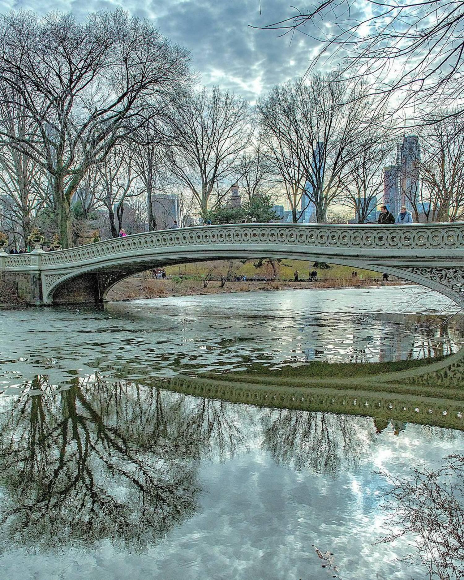 Bow Bridge, Central Park, New York, New York