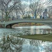 Bow Bridge, Central Park, New York, New York
