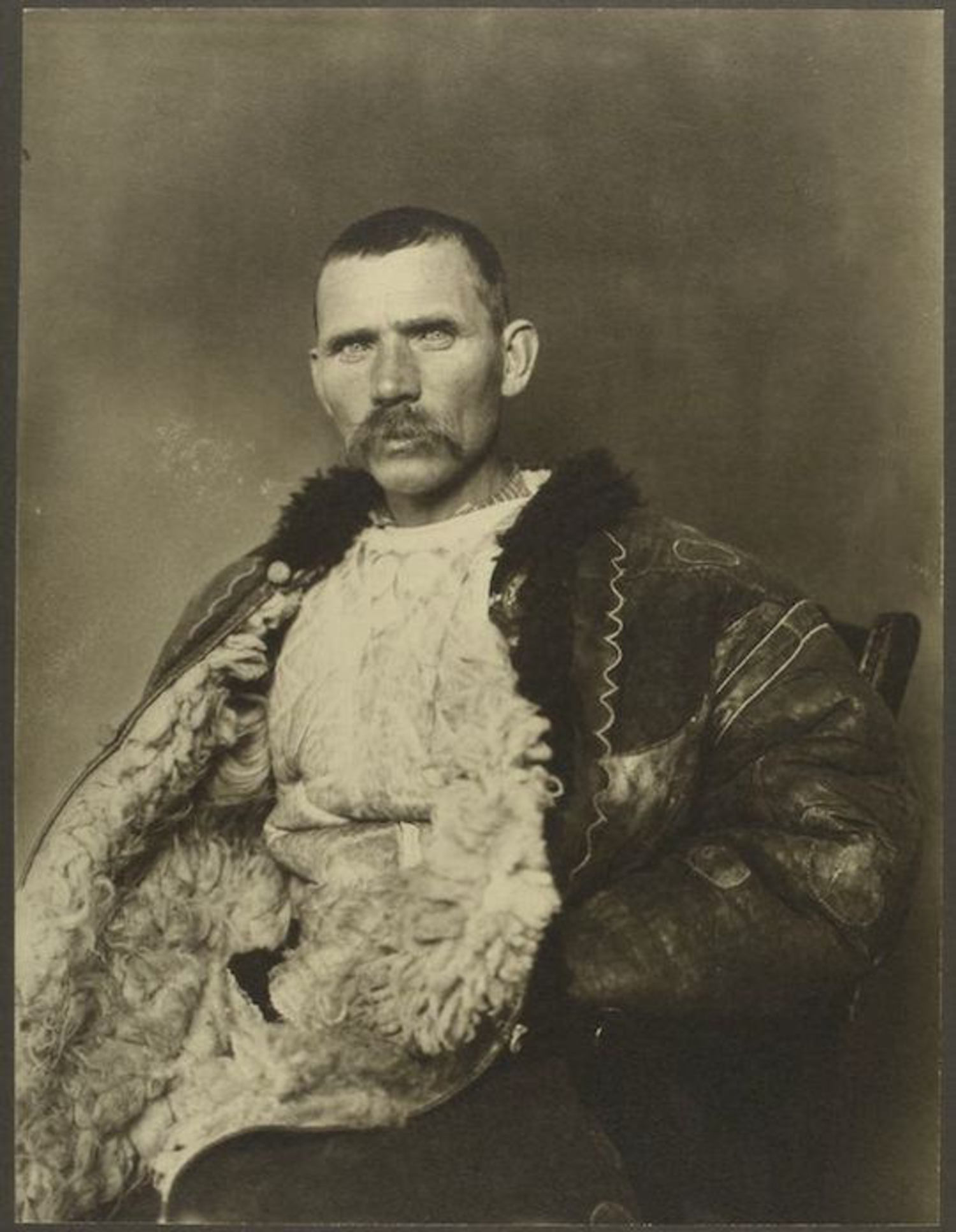 A Romanian shepherd. Portraits for Ellis Island.