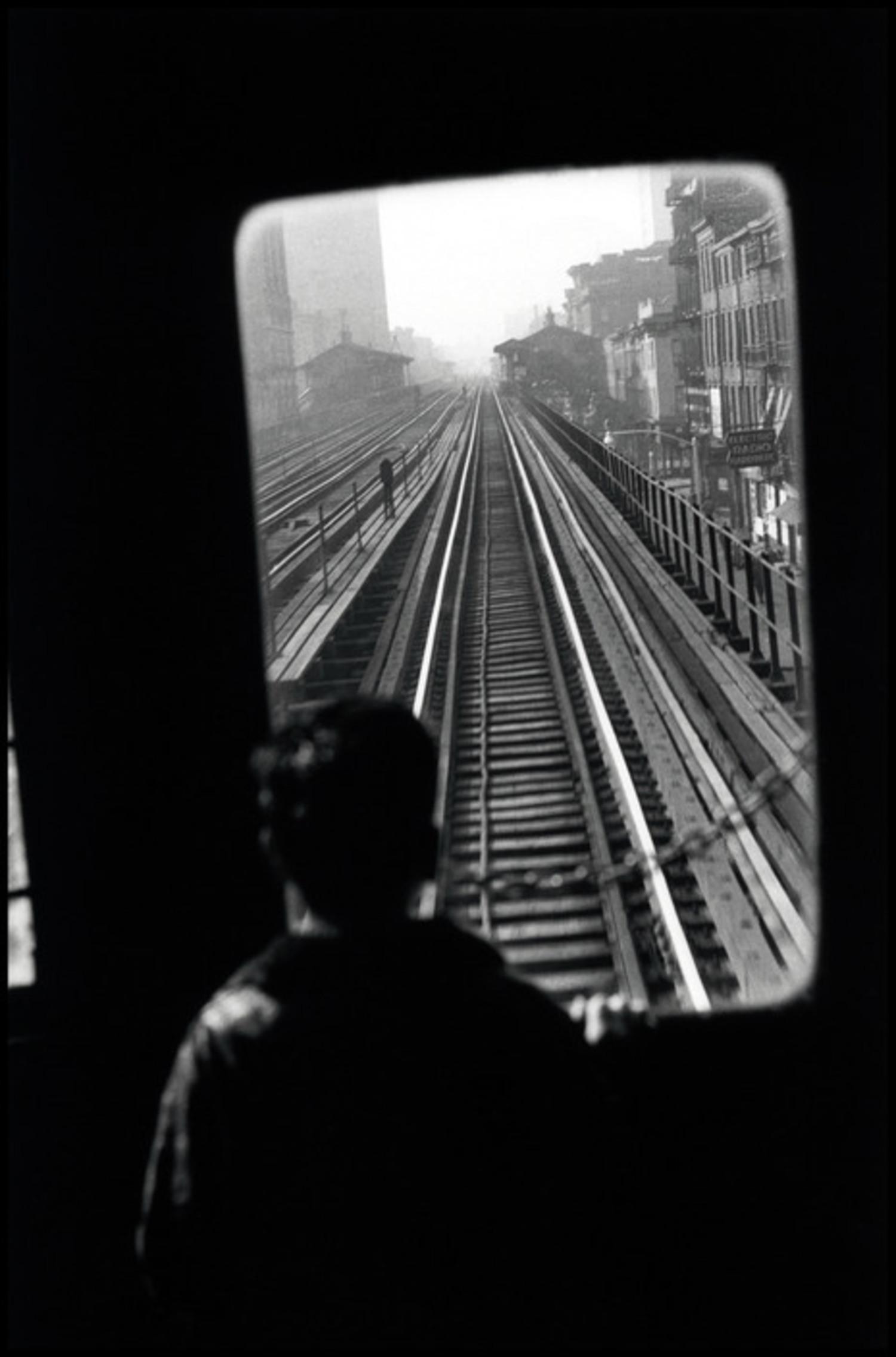 USA. New York. 1955. Third Avenue El.