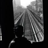 USA. New York. 1955. Third Avenue El.