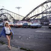Blondie's Lead Singer Debbie Harry, Coney Island, NY 1977