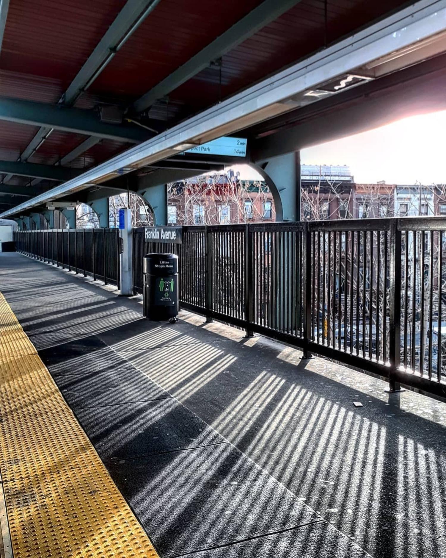 Franklin Avenue Shuttle, Brooklyn